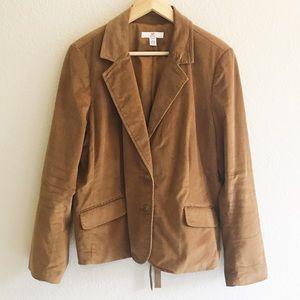 GAP camel brown blazer